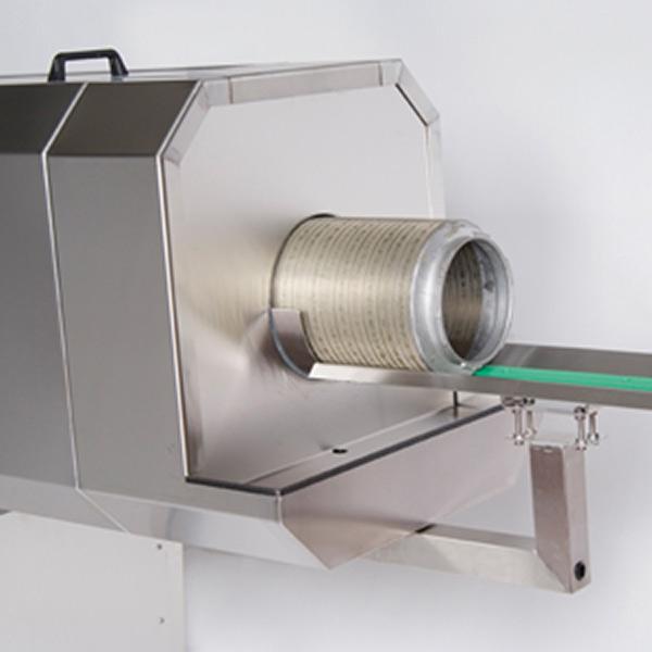 Rotary screen washers